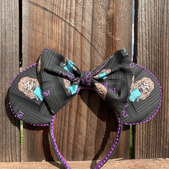 mayrafabuleux Accessories - The Exorcist Minnie Ears, Halloween Minnie Ears